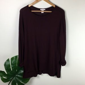 HM | knit tunic top